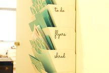 IDEOITA - Järjestystä kotiin / Kaiken laista pientä ideaa, miten saan järjestystä kaaokseen kotona.