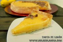 Tarta de limón deliciosa / Tarta de limón  Cremosa y deliciosa receta ¡Anímate! ¡También en video!  http://www.golosolandia.com/2014/11/tarta-de-limon.html