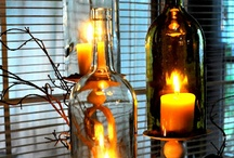 Put Your Wine to Good Use / Beautiful ways to repurpose wine bottles and corks for your home or event