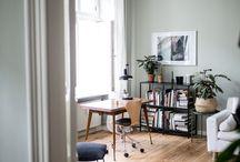 Arbeitszimmer / Der Ort für Kreativität und rauchende Köpfe - Ein Arbeitszimmer muss zum wohlfühlen und konzentrieren sein!