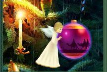Vánoční přání, gify, animace, narozeniny