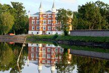 Szałsza - Pałac / Pałac w Szałszy wybudowany w 1877 r. przez rodzinę von Groeling. Obecnie jest własnością prywatną.  Palace in Szałszamwas built in 1877 by the von Groeling  family. At present he is a private property.