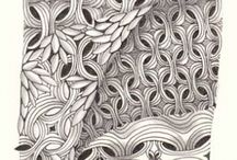 Zentangle Patterns / by Cindy Guard