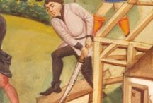 Medieval Woodworking Tools