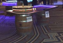 1920's Prohibition Theme Casino Party / Our new line of casino tables