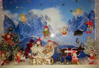 # 72 Reindeer and sleigh / Template # 72 Reindeer and sleigh available at www.sandrasscrapshop.blogspot.com