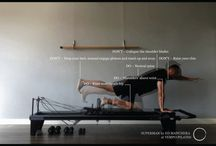 Tips and Tricks / Reformer pilates exercise advise and equipment we love at our studio in London