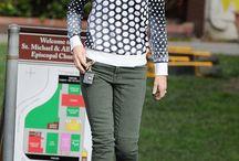 How to wear: khaki jeans