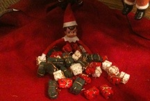 I saw Mommy kissing Santa Claus / Christmas for the kiddos. Elf on the Shelf ideas. Christmas kid crafts / by Nikki Mouser