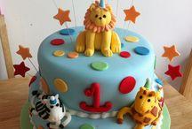 Birthday cakes Haris