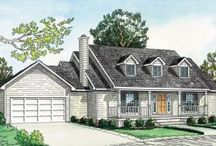 Small House Plans / House Plans under 1500 square feet! Small on footage, large on space!
