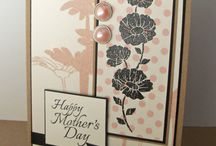 GRS Floral and Nature / Floral and Nature cards featuring images from Gourmet Rubber Stamps