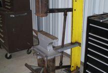 Оборудование для кузницы, ковки