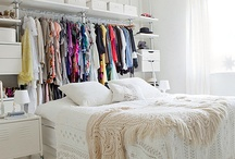 Open wardrobe idea