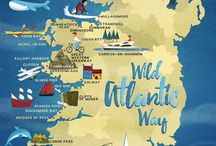 Maps Illustrated by Jennifer Farley / Illustrated maps by Jennifer Farley