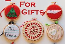ideas for christmas hoops