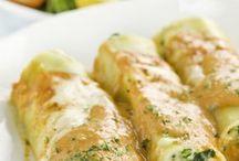 cannelloni courgette chevre