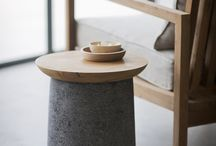 Perfect Harmony: Concrete and Wood / It's a beautiful thing, concrete and wood. The contradictions are tantalizing: hard and soft, animate and inanimate, yielding and unyielding. Concrete and wood is a dichotomy that makes us sigh. Take a look:
