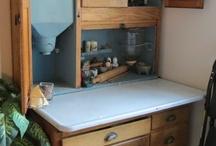 Hoosier Cabinet Rehab