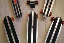 skateboard aluminium vintage