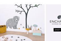 Falmatrica gyerekszobába / Gyorsan és egyszerűen feldobhatod a szobát gyerek falmatrica segítségével.