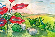 Georgiana Chitac - Children's Books Illustrations / illustrations for children's books
