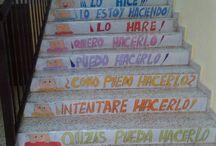 mensajes escaleras