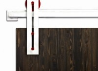 Barn Door Hardware / Jasmine Habitat creates barn door hardware for elite product lovers, designers and architects who want to stay in the cutting edge of the design tendencies in every aspect