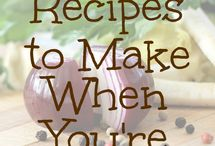 Frugal cooking / Recipes that are easy to make and easy on the budget.