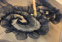 Embroidery with tambour