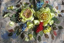Ribbon Embroidery / by Janet Gardner
