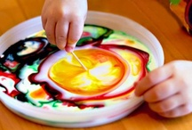 Kids' Craft Ideas and Activities / DIY ideas to keep your little artist busy without too much fuss