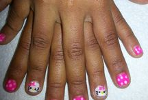 Nail ideas for Payton / by Tara Wilson