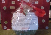 Christmas Pinterest Gifts in a Jar