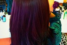 Hair color / Change your hair colour to be who you want and not to fallow others....I love the colours they way they just stand out .. To be bold and beautiful .