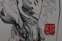 Tattoo Koi