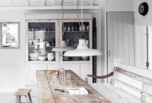 We love Cornish Kitchens / Some gorgeous kitchens that we love, and feel bring a taste of Cornwall into the home