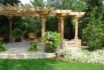 Landscape Structures / Our Roman Stone and AB Courtyard Collection are great options to maximize your outside living space.The antiqued weathered appearance of Roman Stone is a great alternative to expensive natural stone products. The AB Courtyard Collection is durable, versatile, and cost-effective way to bring value into your landscaping. The two sided free standing wall systems unique design can be used in many different applications.