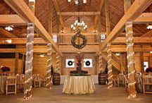 The Barn at Christmas