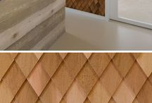 Diamond wood patterns