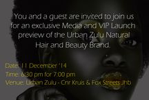 Urban Zulu Natural Beauty / Spa/ Salon/ Beauty Products