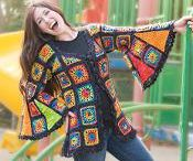 swetry, bluzki, poncha etc.