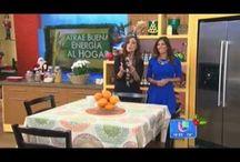 Despierta America Univision / Mis segmentos sobre Feng Shui y decoracion en el programa Despierta America de la cadena Univision.