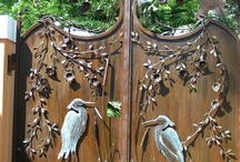 Ворота,  двери