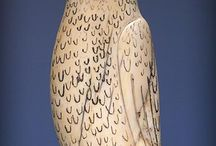 Carved / I love carving; be it in wood, clay, metal...