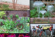 Garden Goodness / Flowers, plants, pots, fences, decor and more  / by Carol Childress