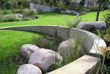 Walls in the garden