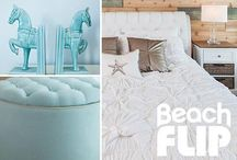 "Finds from HGTV's Beach Flip / You've seen the show, now shop the looks from HGTV's latest competition, ""Beach Flip."" Discover decor finds featured on the exciting first episode, and pick your favorites from our collection inspired by the contestants' beach-chic makeovers. / by Joss and Main"