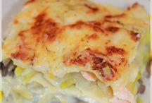 Lasagne aux saumon