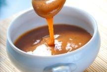 Sauces, crèmes, chutneys, confitures ( salées et sucrées )